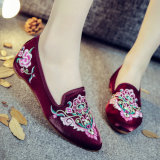 Les chaussures pour femmes la tradition chinoise Style Chaussures broderie