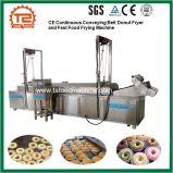 Braadpan van de Doughnut van de Riem van Ce de Ononderbroken Vervoerende en de Bradende Machine van het Snelle Voedsel