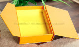 صفراء لون [كمك] طباعة مغنطيس ورقة صندوق من الورق المقوّى صغيرة