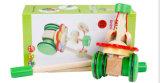 Juguete de aprendizaje de madera de la mano que recorre para el bebé