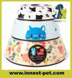 Высокое качество продукции из нержавеющей стали Cartoon-Printing Pet Cat собаку чаши