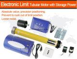 DC Motor tubular con almacenamiento DC de potencia del motor tubular de 60n Interruptor de límite de electrónica del motor tubular de rodadura del obturador