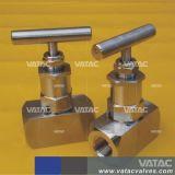 Valvola del calibro del compatto dell'acciaio inossidabile Ss304/Ss316/Ss304L/Ss316L