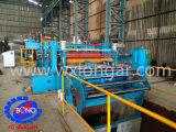 Machine de mise à niveau de la bobine laminée à froid