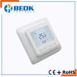 16A LCD Digitalanzeigen-Fußboden-Heizungs-Raum-Thermostat mit weißer Hintergrundbeleuchtung