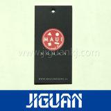China-kundenspezifische gedruckte Kleid-Papier-Fall-Marke mit Zeichenkette