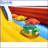 Parque de diversões inflável da cidade inflável inflável barata do divertimento do campo de jogos