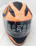 점 두 배 챙 기관자전차 굵은 활자 헬멧 Casco