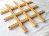 China Wholesale revestimiento de madera del techo rollo Grill rejilla de metal, acabado en madera de techo