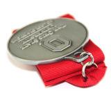 Costume por atacado nenhum metal mínimo do esporte das medalhas do pedido