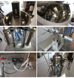 Halb-Selbstpasten-Füllmaschine mit Zufuhrbehälter für Stau (GZA-2)