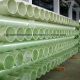 El FRP GRP Gre tubo de resina epoxi