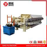 Chambre automatique filtre presse pour le secteur minier le lisier