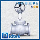 Испытание Wcb Didtek 100% заклинило нормальный вентиль с шестерней глиста