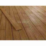Le panneau de mur de Vinyle/bois en bois aiment la planche de plancher du PE Decking/WPC