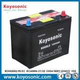 12V 96ah trocknen belastete Autobatterie für das Anstellen der hybriden Autobatterie