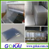 Le plastique à haute brillance feuille rigide de PVC de 0.8 millimètre fabrique