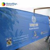 Kundenspezifische farbenreiche Digital-Drucken-Ausstellung-Ineinander greifen-Fahne