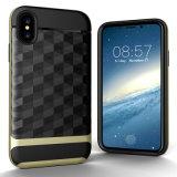 Новое почищенное щеткой iPhone x аргументы за телефона Анти--Падения зеркала Ling