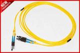 2.0mm MU к шнурам заплаты однорежимного симплексного волокна MU оптически