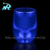 taza de café de cristal cristalina del vino blanco del animal doméstico 12oz