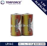 Mercury&Cadmium freier China Fabrik-ultra alkalische Batterieshrink-Satz (LR14/C Size/AM2 Größe)
