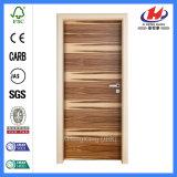 Portello di legno interno dell'impiallacciatura di disegno d'acciaio di obbligazione (JHK-FC)