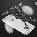 X случай телефона металла формы Bumper с держателем Kickstand кольца на iPhone 7 6s 6 7plus 8 8plus