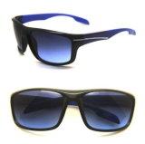 Desportos de plástico óculos de sol com a marca do OEM