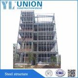 El lujo asequible pequeña villa de la estructura de acero prefabricados prefabricados modulares móviles de la construcción de casas Villa