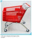 carro de compras plástico de 100L Europa