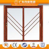 Alluminio del portello della decorazione interna del mercato/alluminio europeo/portello scorrevole di Aluminio