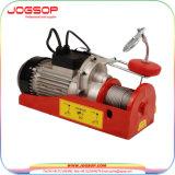 2200 lbs mini elektrische Drahtseil-Hebevorrichtung-Laufkran-Aufzug-