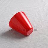 أحمر مخروط مدلّيات ظل زجاجيّة [نك028]