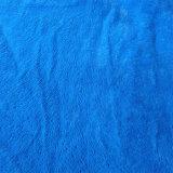 Polyester 100% gestricktes Sofa-Gewebe mit dem Scharen des Samts