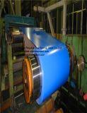 Colorir chapa de aço revestida para a estrutura de telhado, folha de superfície do balcão, frame do indicador