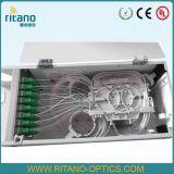 24 núcleos de la bandeja de empalme de fibra óptica Patch Panel de la caja de bornes