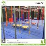 3大きいNinjasの冒険の演劇装置の運動場デザイン屋内公園のNinjaの戦士のトランポリン