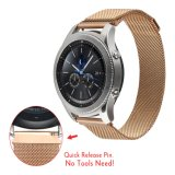 Magnetic Closure Clasp Milanese Loop Mesh Strap for Samsung GEAR S3 Classic/Frontier