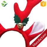 크리스마스 가지진 뿔 벨 머리띠 순록 Cos 장신구 훈장 또는 크리스마스 머리띠