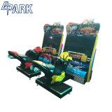 아케이드 경주용 차 게임 장치를 경주하는 기관자전차 속도