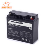 batteries de pouvoir de dîner de 12V 17ah pour le système d'alarme de garantie