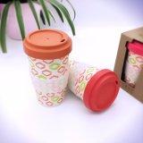 Wholesable biodegradierbare Bambusfaser-Kaffeetasse (YK-BC4137)