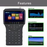 "4.3 "" Ahd Tvi Cvi CCTV Camera Video Testerが付いているHD衛星TV Finder"
