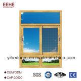 Finestra di scivolamento di alluminio con vetro d'isolamento libero