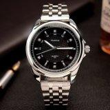 Montre-bracelet classique d'hommes de quartz de montre de bande métallique de Z331-S