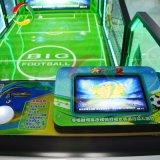Macchina dell'interno della partita di football americano del centro del gioco per i capretti