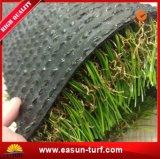 Tapete artificial da grama da falsificação do relvado para a recreação