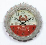 가정 훈장을%s 고대 디자인에 있는 금속 벽 원형 시계