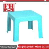 Moulage en plastique de présidence de Tableau de meubles de jardin de rotin de l'injection pp
